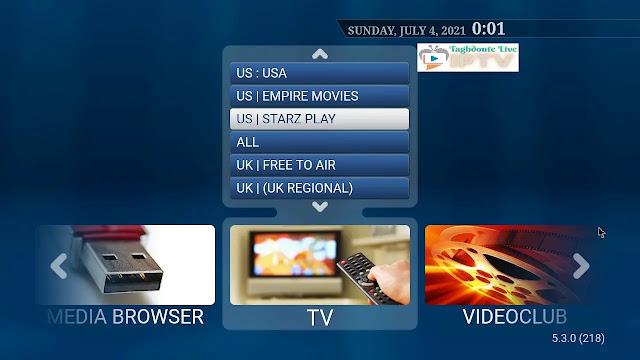 IPTV STB Smart portal