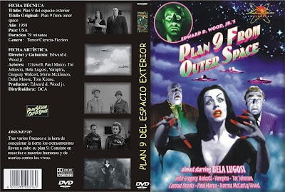 Carátula dvd: Plan 9 del espacio exterior - Plan 9 From Outer Space - Vampiros del espacio