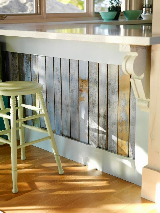 rustic diy dresser kitchen island idea | A Cape Cod Shop & Rustic Wood Love - Shine Your Light