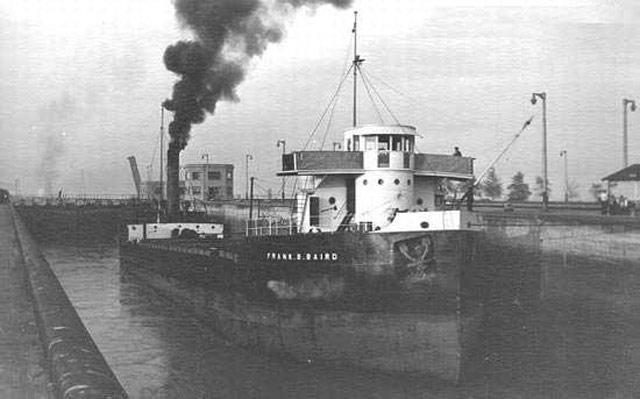 Canadian freighter Frank B. Baird, sunk on 22 May 1942 worldwartwo.filminspector.com