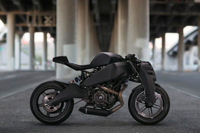 Modifikasi Cafe Racer Futuristik