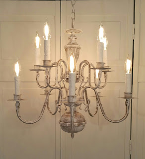 "chandelier ""OLD WORLD"" rustic 10-light"