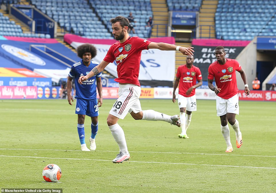 M.U phá kỷ lục hưởng phạt đền ở Premier League