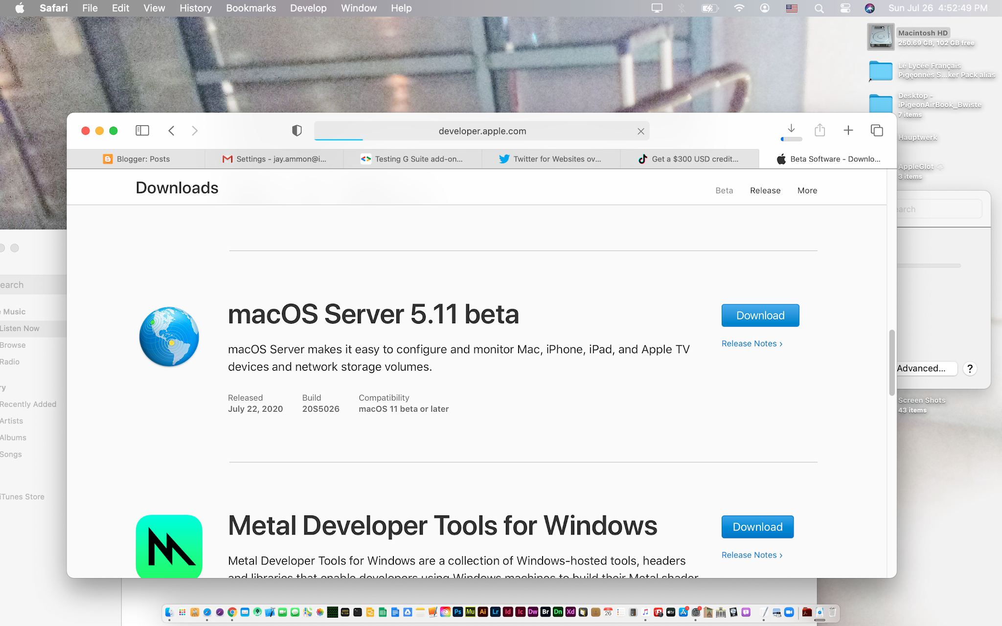 Direct download links of macos server 5.11.1 final installer.dmg update file for mac for offline manual installation using itunes without app store. Ipigeon Institute Blog Apple Releases Macos Server 5 11 Beta Free 0 For Macos 11 0 Big Sur Users