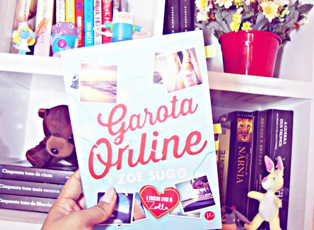 Resenha livro Garota Online da Zoe Sugg