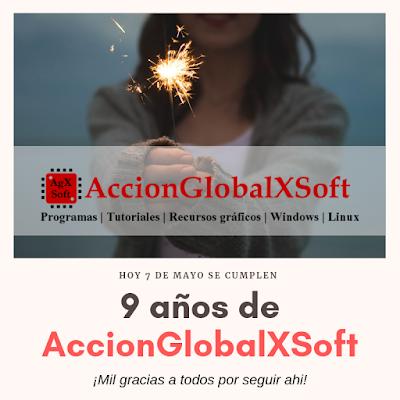 9 años de AccionGlobalXSoft