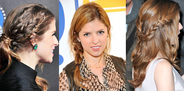 Anna Kendrick's Braided Hair