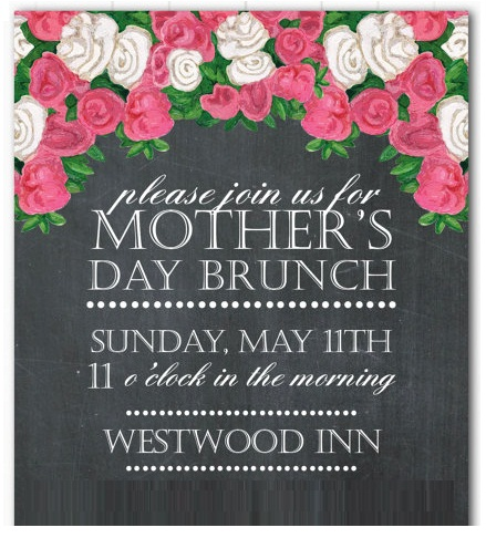 Mothers Day Poster Template
