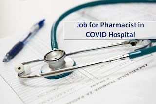 COVID Hospital Job for Pharmacist