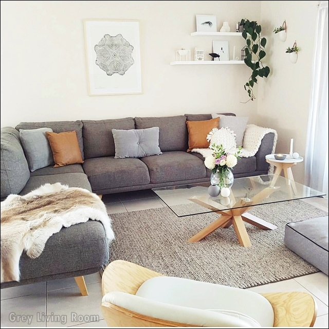 Creative Grey Couch Living Room Ideas, Grey Couch Living Room