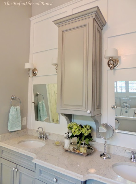 Master Bathroom Reveal Refeathered Roost- Treasure Hunt Thursday- From My Front Porch To Yours