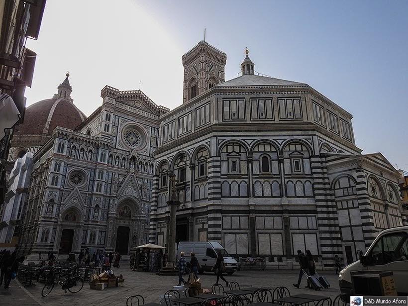 Catedral Santa Maria del Fiori - Diário de bordo: 2 dias em Florença