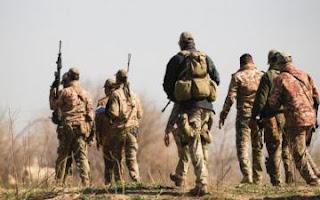 عاجل القوات العراقية  تقتل خمسة من عناصر داعش وسط قرية إمام جنوب غربي الموصل