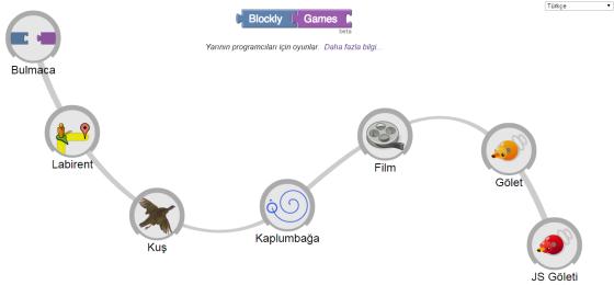 Google Blockly Game ile Kodlama