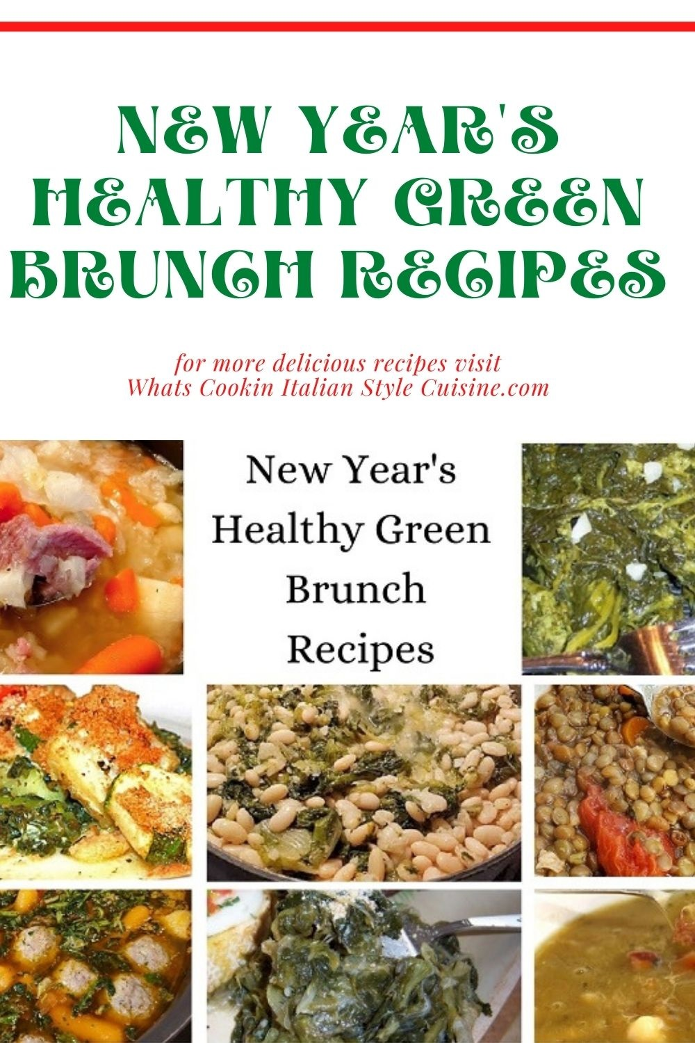 this is a pin for later on lucky New Year Green recipes
