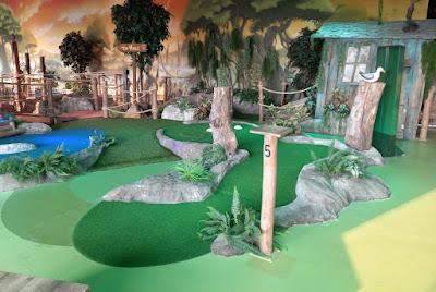 Gator Adventure Golf at Escape Entertainment in Chorley