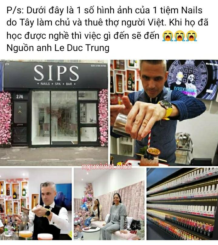 Tiệm Nail của người Việt đang dần bị chiếm chỗ - THAY ĐỔI HAY CHẾT