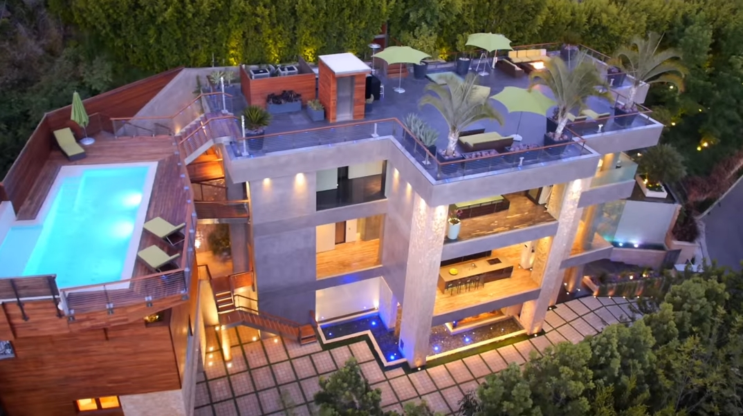 46 Interior Photos vs. 9909 Beverly Grove Dr, Beverly Hills CA Ultra Luxury Modern Mansion Tour