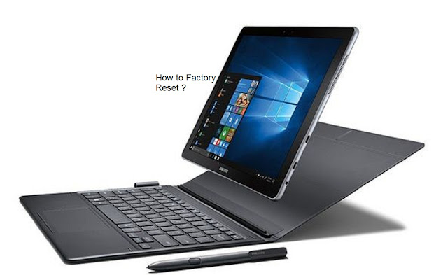 Samsung Galaxy Book Factory Reset