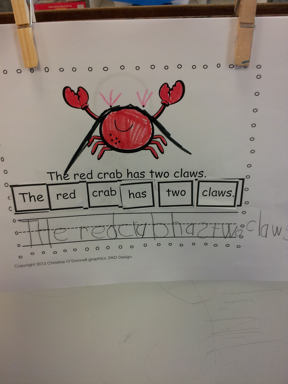 The Crazy Pre K Classroom Numbers Sentence Building And I Spy Sight Words