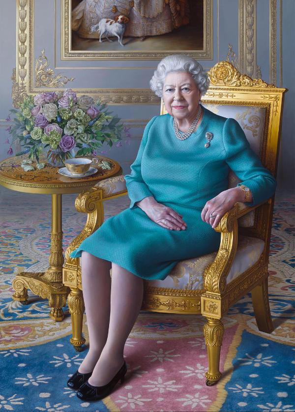 HM The Queen by Miriam Escofet