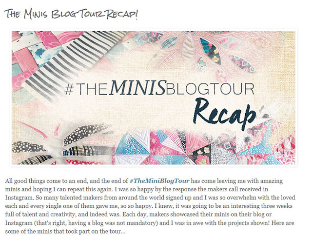 http://patbravodesign.blogspot.com/2016/05/the-minis-blog-tour-recap.html