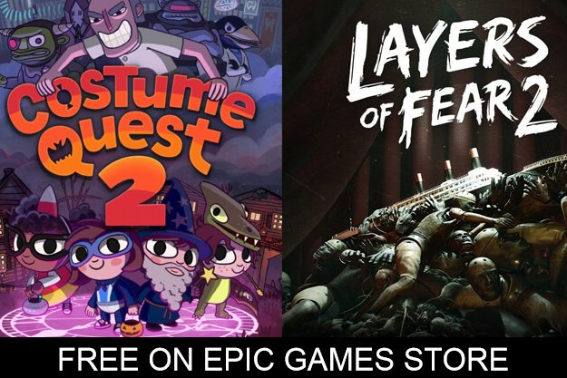 free layers of fear 2 costume quest 2 epic games store
