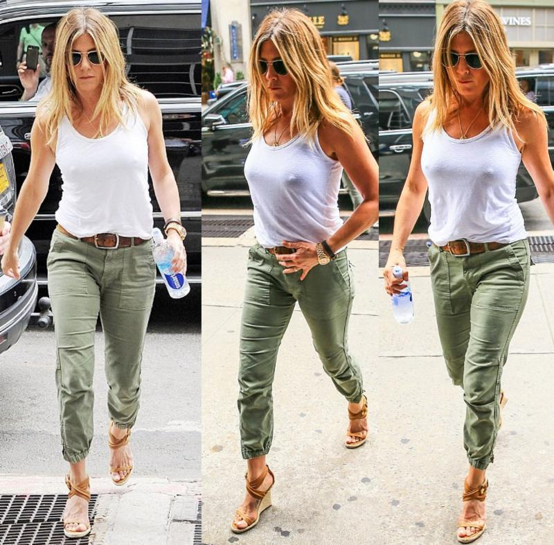 Jennifer aniston peace trooper pant in fatigue fashion Jennifer aniston fashion style pictures