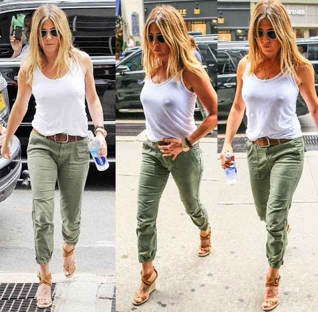 Jennifer Aniston Peace Trooper Pant in Fatigue