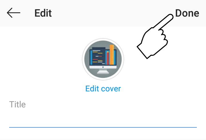 Cara Menghilangkan Tulisan Pada Judul Sorotan Highlight Instagram Teknisi Blogger
