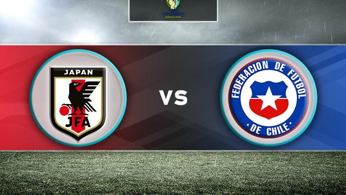 مشاهدة مباراة اليابان و تشيلي 17-06-2019 كوبا أمريكا