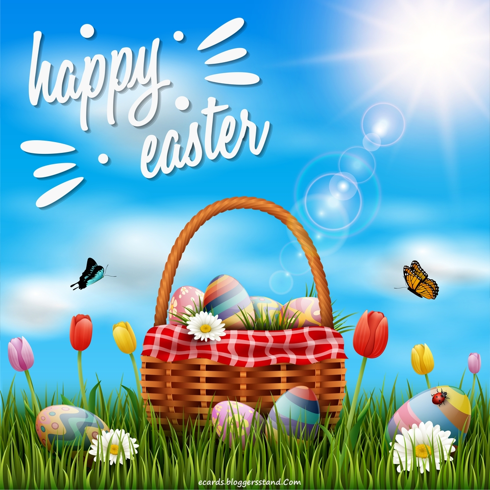 Happy Easter wishes and greetings eCard Free