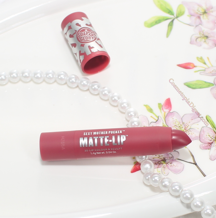 Soap & Glory Sexy Mother Pucker Matte Lip 3D Lip Colour Review, Swatches