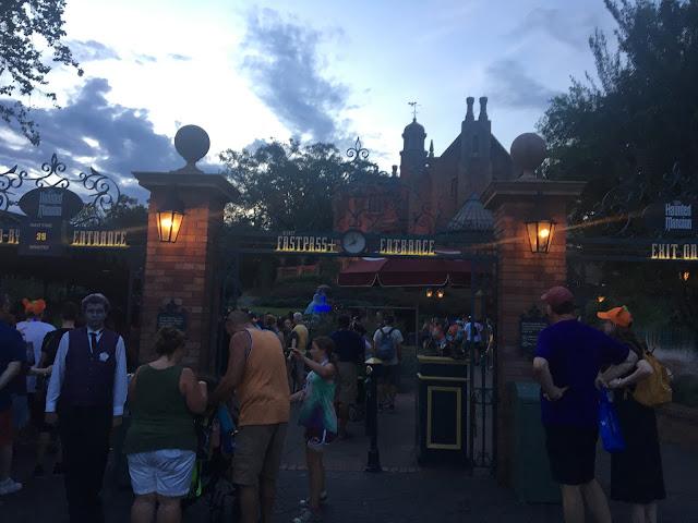Haunted Mansion Magic Kingdom Disney World