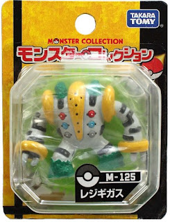 Regigigas figure Tomy Monster Collection M series