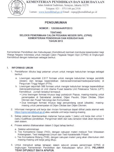 Pendaftaran Cpns Di Lampung Tahun 2013 Lowongan Kerja Loker Terbaru Bulan September 2016 Adapun Formasi Lowongan Cpns Universitas Lampung Unila Tahun 2013