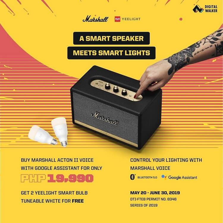 Marshall x Yeelight Bundle Promo