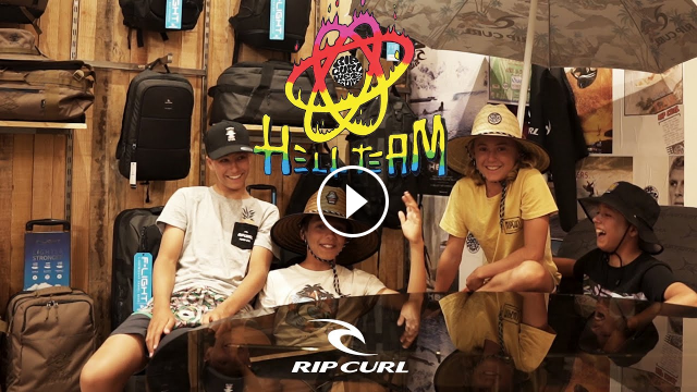 THE EUROPEAN RIP CURL HELL TEAM IS REUNITED ONLINE