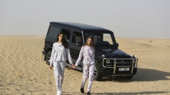 Photo Shoot Of An Israeli Model In The Desert Of Dubai