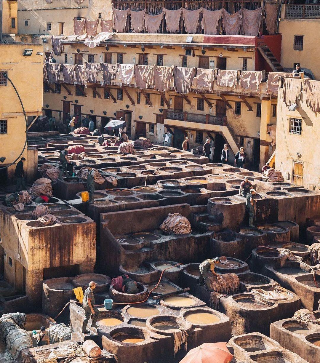 Kota eksotis wisata favorit maroko