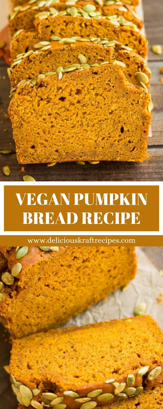 VEGAN PUMPKIN BREAD RECIPE