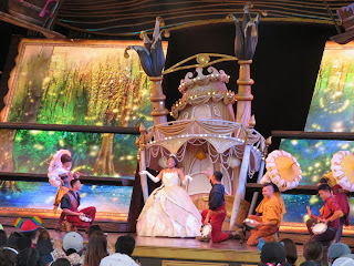 Princess and the Frog Finale Mickey and the Magical Map Disneyland