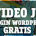 Video JS Plugin Wordpress MP4 y Youtube Gratis