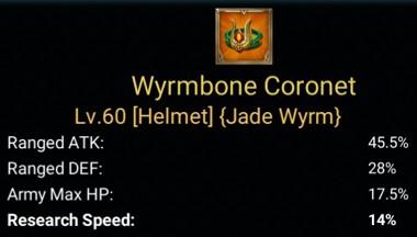 Gear Wyrmbone Coronet untuk Percepatan Riset