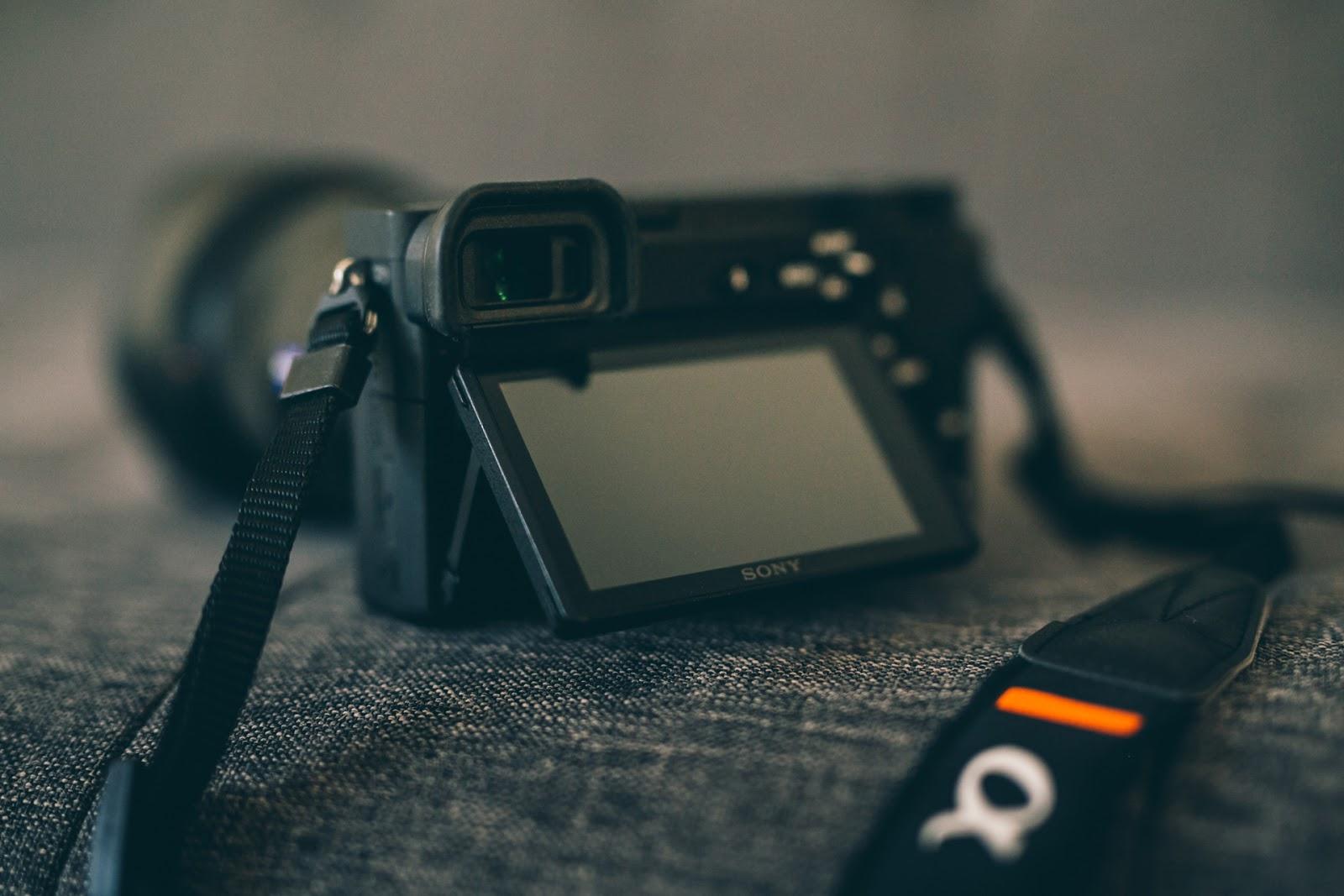 Sony A6500, вид сзади