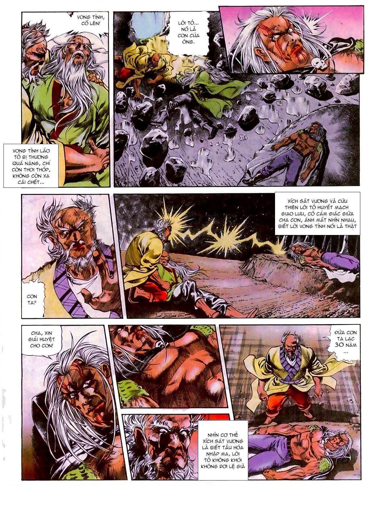 Thiết Tướng Tung Hoành chap 270 - Trang 15