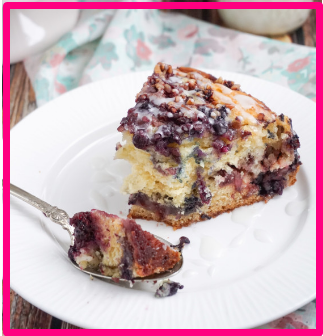 Triple Berry Coffee Cake Recipe