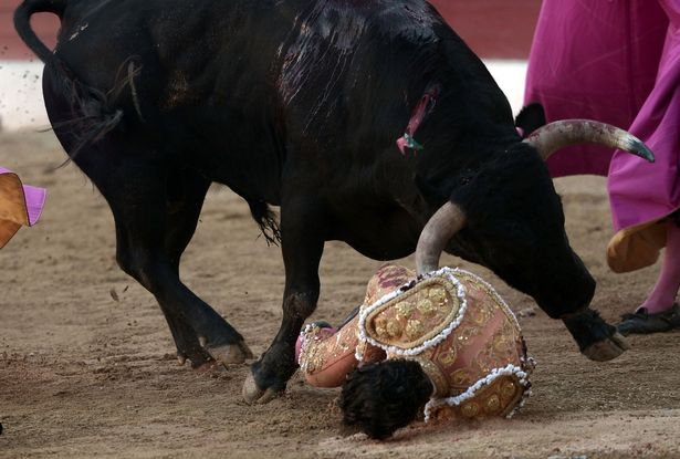 Διάσημος ταυρομάχος σκόνταψε στην κάπα του και ο ταύρος διαπέρασε τον πνεύμονά του