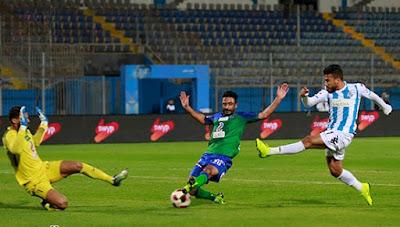 ملخص واهداف مباراة بيراميدز ومصر المقاصة (3-2) الدوري المصري