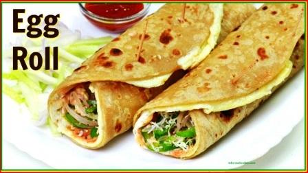 How To Make Egg Roll | Kolkata Egg Roll Recipe | Easy Chapati Egg Roll Recipe at home |
